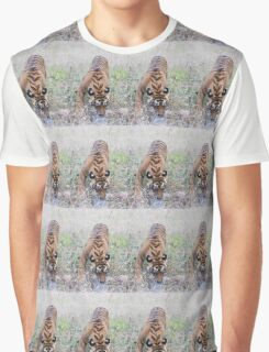 Young Bengal Tiger Graphic T-Shirt