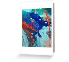 Abstract composition 227 Greeting Card