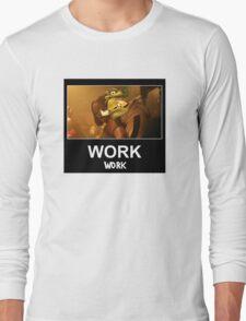 WORK 'Work' ft. Rihanna & WC3 Long Sleeve T-Shirt