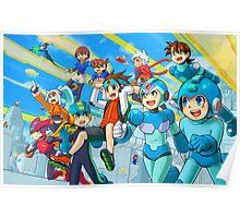 Megaman Megaprint Poster
