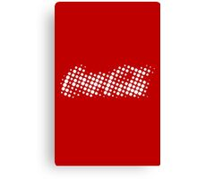 Coke II Halftone Canvas Print