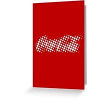 Coke II Halftone Greeting Card