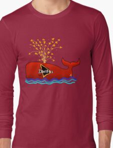 Dorito Whale Long Sleeve T-Shirt