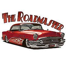 1955 Buick Roadmaster - Red 5 Photographic Print