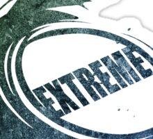 4 wheel extreme (bluegreen) Sticker