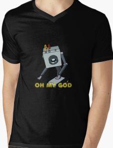 Rick and Morty // Butter Robot Mens V-Neck T-Shirt