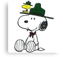 Snoopy - Penuts Canvas Print
