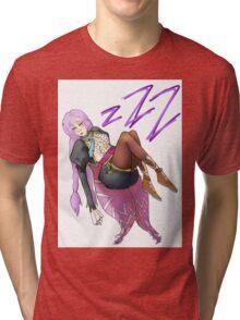 Sleeping Clorica Tri-blend T-Shirt