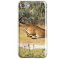 Leaping Lechwe iPhone Case/Skin