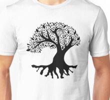 Tree of Peace - Black Unisex T-Shirt