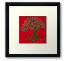 Tree of Peace - Color Framed Print
