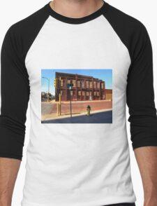 Hays, Kansas - 12th Street Men's Baseball ¾ T-Shirt