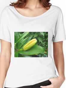 Jealousy - Lily Bud Macro Women's Relaxed Fit T-Shirt