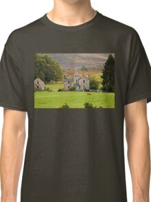 Scottish Pastorale (On the A9, Pitlochry, Perthshire, Scotland, UK.) Classic T-Shirt