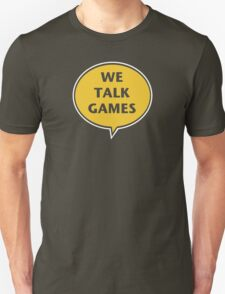 We Talk Games Official Logo (punched) Unisex T-Shirt