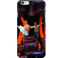 Finding my balance while the fire burns iPhone Case/Skin