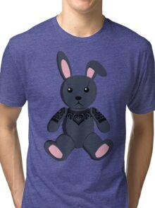 Tribal Black Bunny Tri-blend T-Shirt