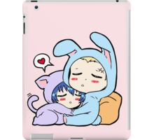 Kannao - Bunny and Cat iPad Case/Skin
