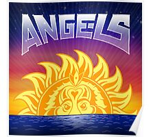 Angels by Chance the Rapper Poster