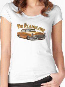 1955 Buick Roadmaster - Orange 4 Women's Fitted Scoop T-Shirt