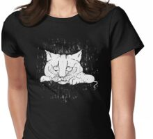 The Hungry Cat Womens Fitted T-Shirt