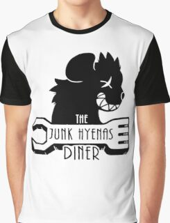 The Junk Hyenas Diner Graphic T-Shirt