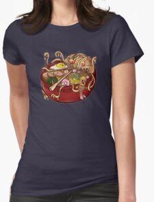 Ramen Monster Womens Fitted T-Shirt
