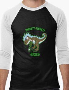 Riggety Riggety Rexed! Men's Baseball ¾ T-Shirt