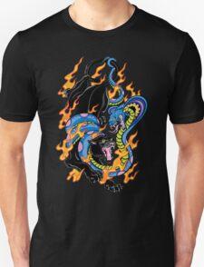 Tattoo Style: Panther & Snake Unisex T-Shirt