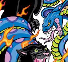 Tattoo Style: Panther & Snake Sticker