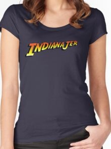 Indiana Jer Women's Fitted Scoop T-Shirt