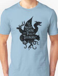 The Night Is Dark Unisex T-Shirt