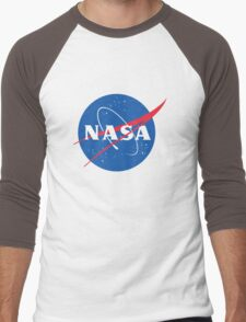 old retro nasa Men's Baseball ¾ T-Shirt
