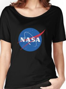 old retro nasa Women's Relaxed Fit T-Shirt