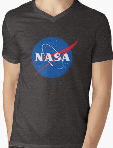 old retro nasa Mens V-Neck T-Shirt