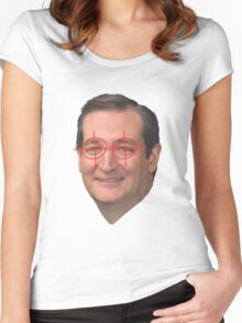 The Actual Zodiac Killer Women's Fitted Scoop T-Shirt