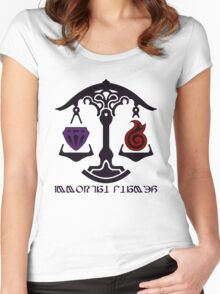 The Immortal Flames Women's Fitted Scoop T-Shirt