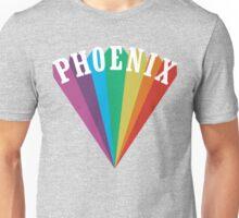 Phoenix Rainbow Design Unisex T-Shirt
