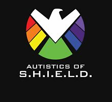 Autistics of S.H.I.E.L.D. Women's Fitted Scoop T-Shirt