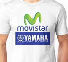 movistar yamaha factory racing logo moto gp  Unisex T-Shirt