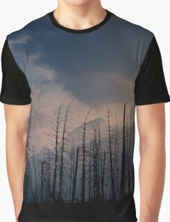 Glacier National Park after 2015 Wildfire Graphic T-Shirt