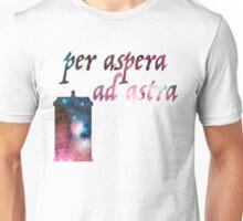 Through Hardship to the Stars Unisex T-Shirt