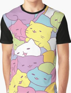 Mitchiri Neko Kittens Graphic T-Shirt