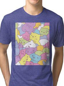 Mitchiri Neko Kittens Tri-blend T-Shirt