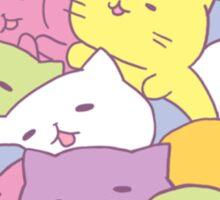 Mitchiri Neko Kittens Sticker