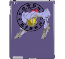 Cowboy Bebop - Red Tail (Old Stamp Style) iPad Case/Skin