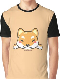 Cute Shiba Inu Puppy Graphic T-Shirt