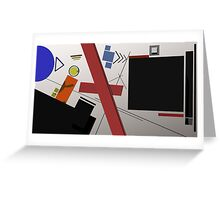 Abstract composition 236 Greeting Card
