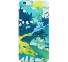 Abstract Splash Painting iPhone Case/Skin