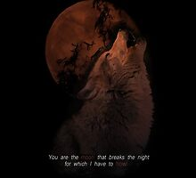 Howling Wolf by SourWolf06